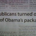 Breaking! Republicans Are Not Impressed With Obama's…. Package