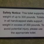 Disturbing Safety Notice