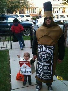cigarette children's costume jack daniels costume