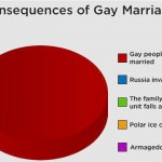 What Won't Happen if We Legalize Gay Marriage As Seen in Pie Chart Form