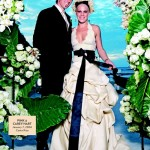 Digging In The Crates! 5 Of The Cheesiest Celebrity Wedding Pictures You've Ever Seen