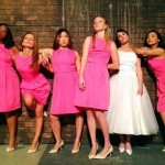 "The Glee Girls Do Their Best ""Bridesmaids"" Impersonation"