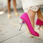 Go With Pink Wedding Shoes And, Trust Us, They'll Have A Serious 'Moment' In Photos