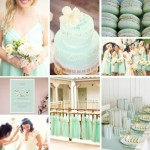 The Season's Mint Trend Hits Weddings — And We Love It #Mintspiration