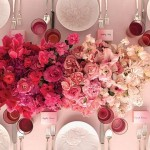 Ombre Wedding Decor: If You Can't Pick Just 1 Shade, Go With The Whole Spectrum