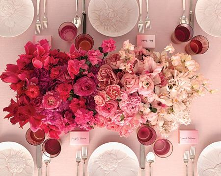 Ombre Wedding Decor If You Can T Pick Just 1 Shade Go