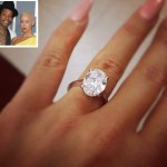 Behold, Amber Rose's Engagement Ring…