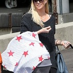 New Mom Charlize Theron Steps Out With Her Baby Boy, Jackson