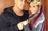 snooki engagement photo