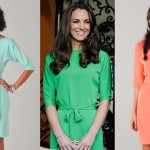 Kate Middleton's Maja DVF Dress Is Back–In Seriously On-Trend Mint & Coral