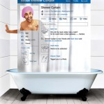 Move Over Pinterest! The Social Shower Curtain Is The Next Big Thing