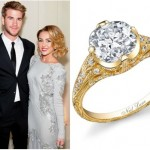 The First Replica Of Miley Cyrus' Engagement Ring Is Here! (And Lovely For Brides Of All Ages)