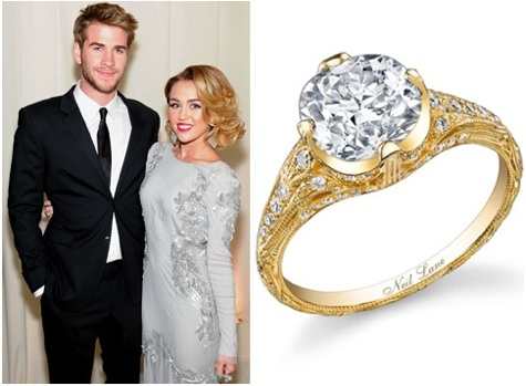 the replica of miley cyrus engagement ring is here