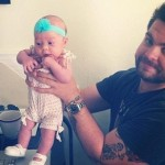 Spotted! Jack Osbourne Shows Off His Adorable Little Girl, Pearl