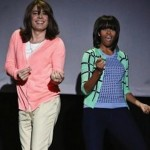 Jimmy Fallon & Michelle Obama Demonstrate The Mom Dance