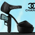 Chanel Gun Heels Can Get You Arrested