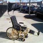 Lady Gaga's Hot New 24-Karat Gold Wheelchair