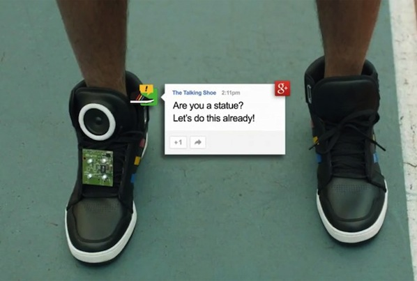 Google's Talking Shoes From The SXSW Conference