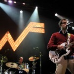 Weezer's Drummer Is the Ultimate Multi-Tasker